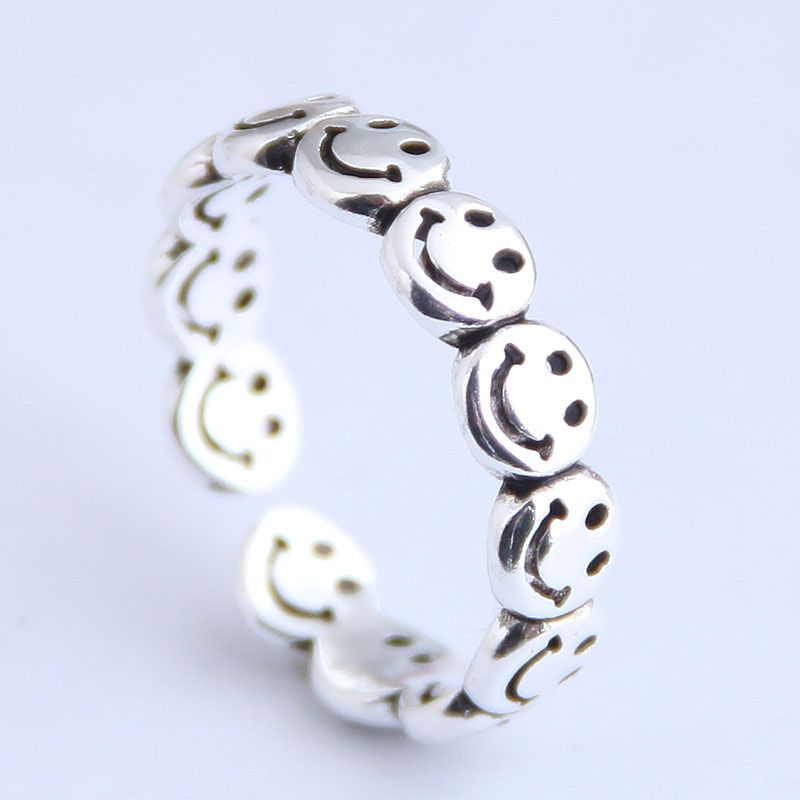 Fashion vintage personality open ring NHSC206216