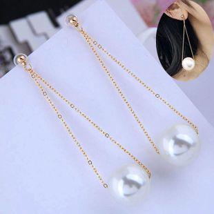 Korean fashion sweet and elegant pearl earrings NHSC206234's discount tags