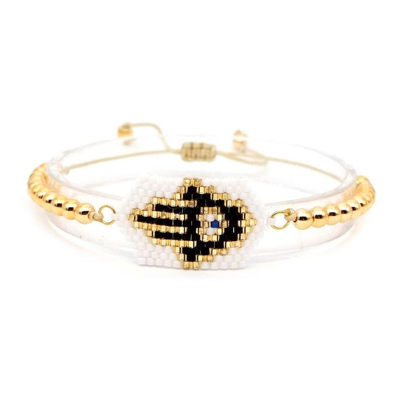 Miyuki Mizhu Hand Woven Fatima Palm Hand Fatima Bracelet Wholesale NHGW205988