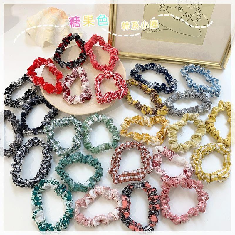 Korea new fashion simple hair rope cheap scrunchies wholesale NHOF206017