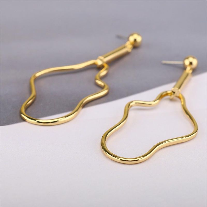 New fashion popular jewelry earrings simple cloud earrings metal hollow earrings women NHQS206077