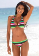 New swimwear womens striped solid color sexy bikini swimwear swimsuit NHHL199995