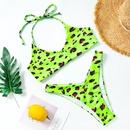 New bikini polka dot print lace up bikini swimwear for women wholesales fashion NHHL199998