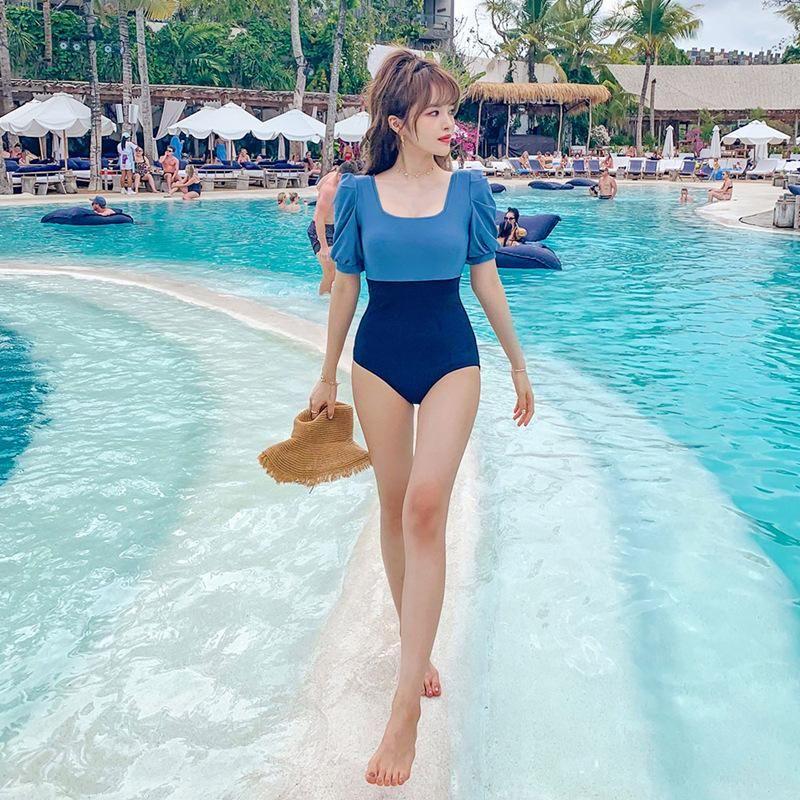 New fashion sexy one-piece triangle swimsuit women wholesales fashion NHHL200043