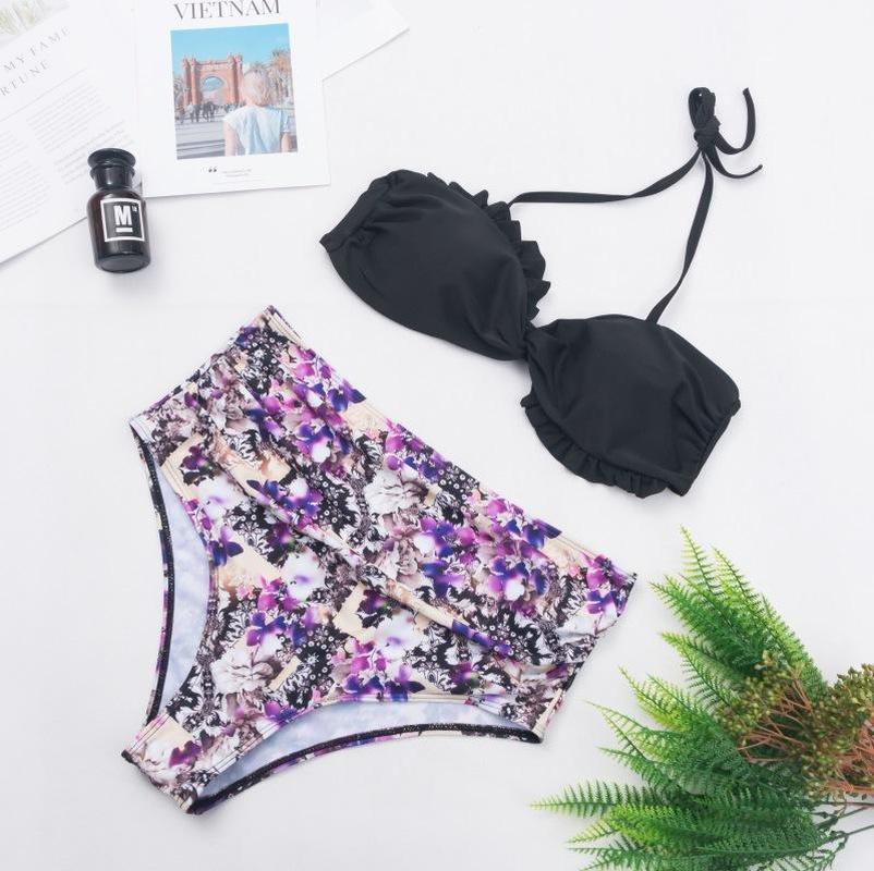New split bikini explosions ladies swimwear lace swimsuit NHHL200049