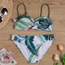 New swimwear explosion models swimwear twopiece printed bikini sexy bikini NHHL200088