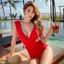 New onepiece waistless sexy ladies swimwear hot spring swimsuit wholesales fashion NHHL200097