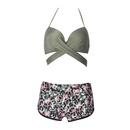 Fashion womens bikini new split bikini explosion sexy ladies swimwear boxer swimsuit NHHL200101