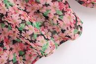 Wholesale Spring Print Womens Chiffon Shirt Top NHAM200147