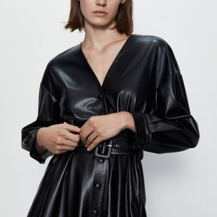 Fashion women's dress new women's belt faux leather dress wholesale NHAM200160's discount tags
