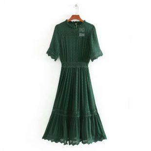 Fashion women's dress spring lace decorative dress wholesale NHAM200172's discount tags