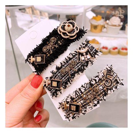 Retro little flower clothes fashion cute BB clip Liu Haihai clip wholesale NHHD200327's discount tags