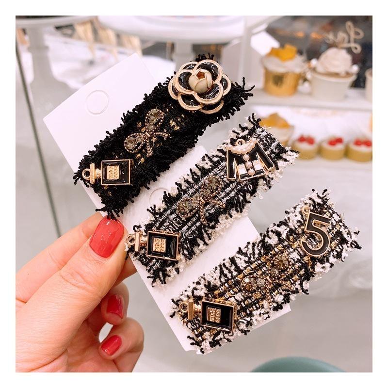 Retro little flower clothes fashion cute BB clip Liu Haihai clip wholesale NHHD200327