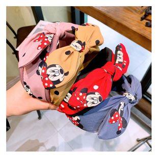 Korean retro cartoon Han Mini dot bow hair hoop wild card accessories NHHD200328's discount tags