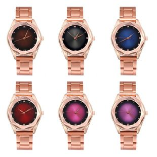 Exquisite scale fashion women's watch trend alloy casual quartz watch wholesale NHLN200350's discount tags