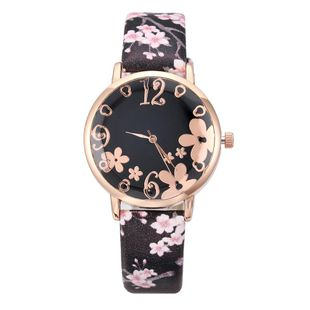 Explosive Fashion Women's Watch Trendy Women's Belt Watch Three-dimensional Printing Quartz Watch NHLN200351's discount tags
