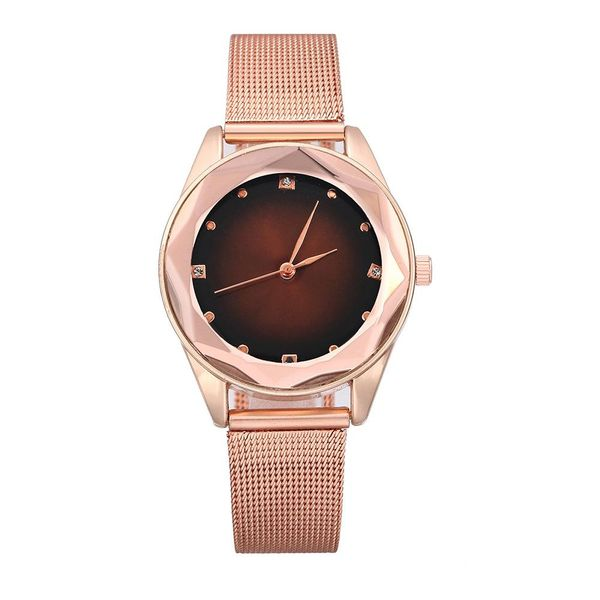 Reloj de mujer de moda Reloj de cuarzo de malla de acero inoxidable de moda NHLN200353