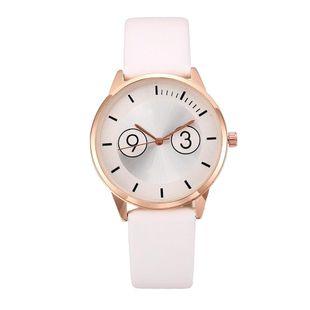 Reloj de mujer de moda Cinturón binocular falso Reloj de cuarzo al por mayor NHLN200354's discount tags