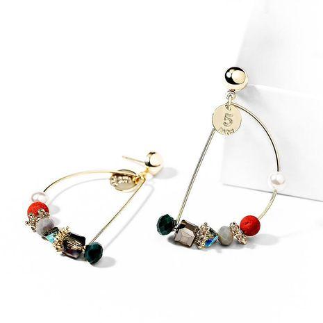 Fashion women's earring wholesale 925 silver needle beaded high-end earrings female new ear jewelry NHPP200360's discount tags