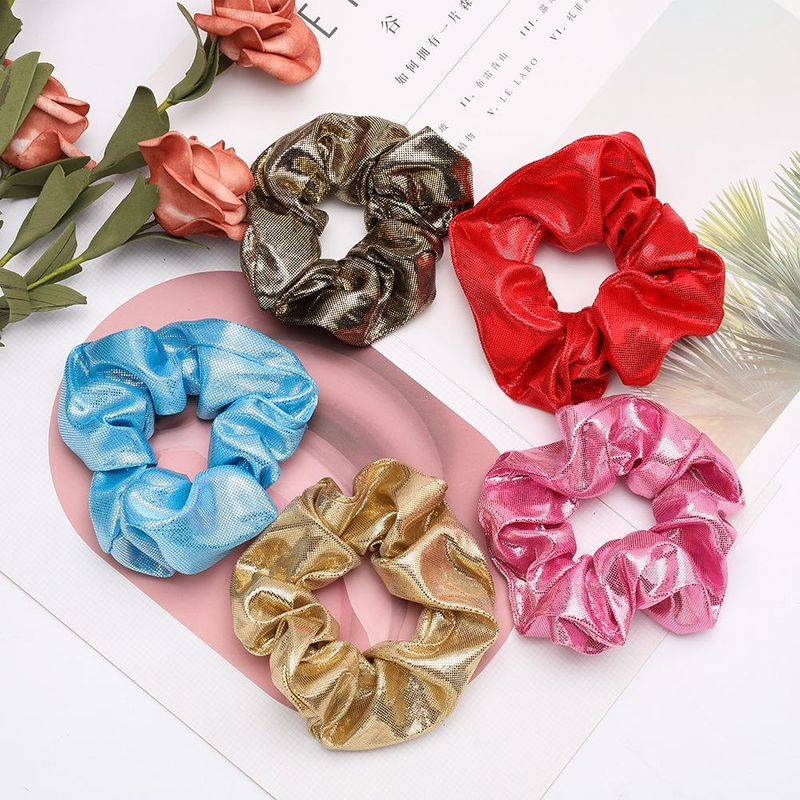 Simple wild hair wavelet point cloth fabric Korean hair ring wholesale NHJE200377