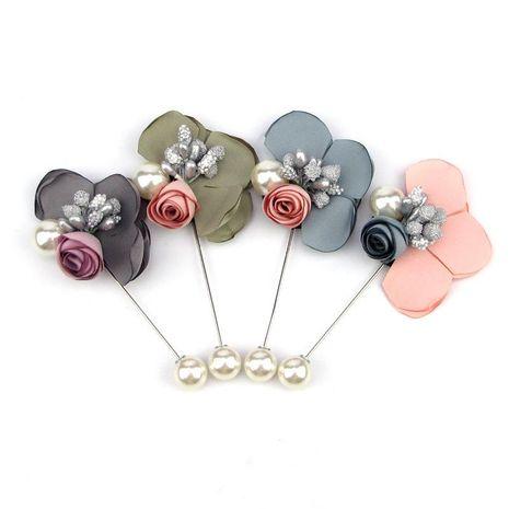 Fil de mode rose cristal broche robe costume broche broche pour hommes et femmes NHJJ200389's discount tags