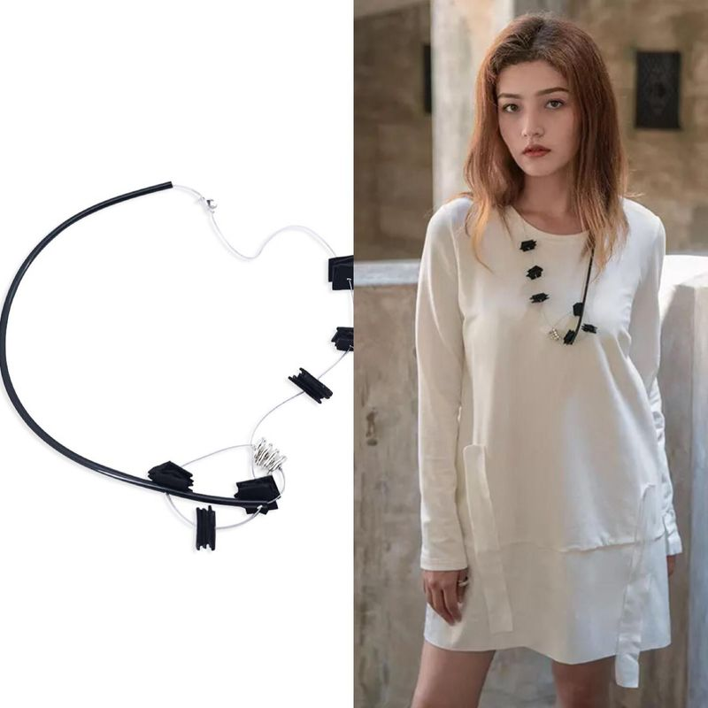 New accessories necklace simple fashion hot vintage necklace accessories NHJJ200398