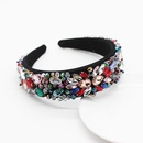 New Fashion Luxury Hair Accessories Wide Edition Hand Woven Crystal Hair Accessories Wholesale NHWJ200405