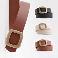 New women's belt snap casual wide jeans belt coat coat decorative belt women NHPO200421