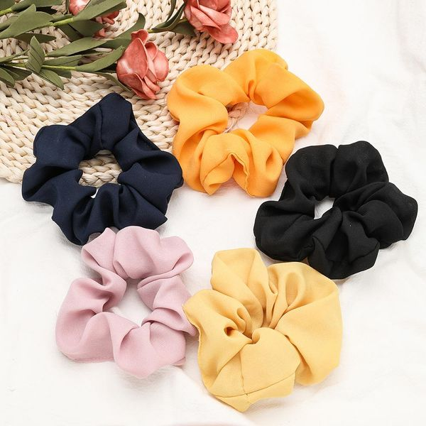 Fashion cotton and linen cloth Korean hair band rubber band head flower headband wholesale NHJE200454