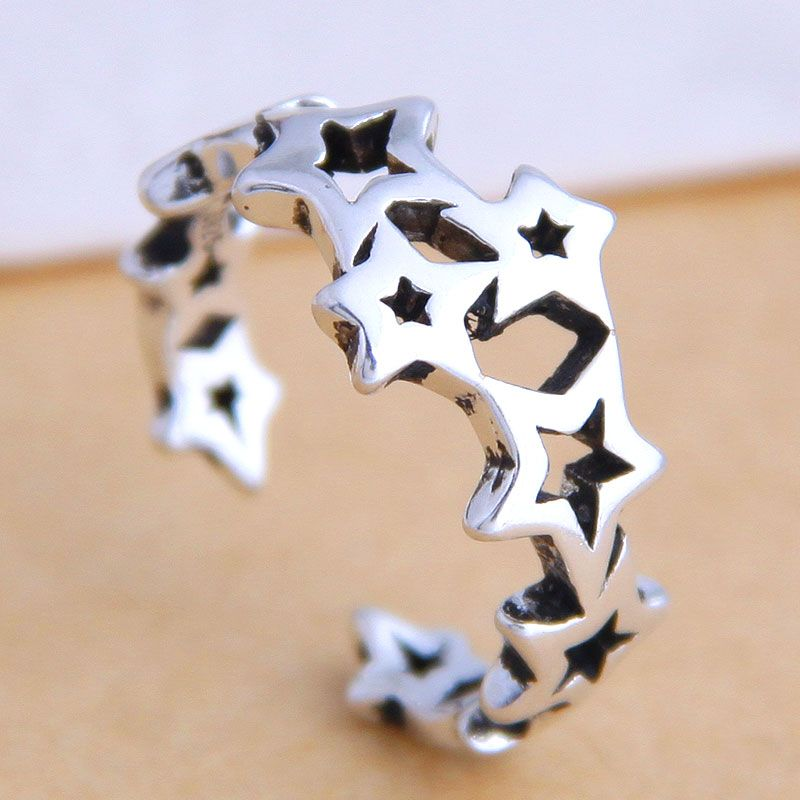 Fashion Vintage Meteor Open Ring Fahsion jewelry Wholesale NHSC200897