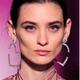 Fashion jewelry Fashion Metal Bright Diamond Love Heart Exaggerated Earrings Wholesale NHSC200892