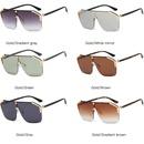 New fashion onepiece sunglasses explosion style fashion large frame sunglasses glasses wholesale NHFY200463