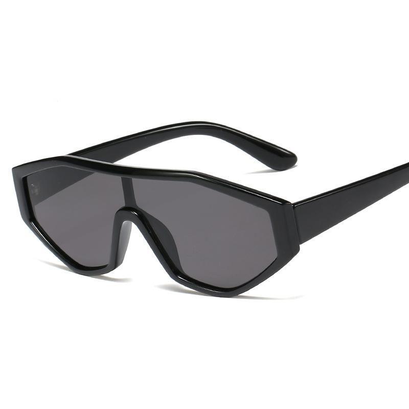 New Fashion One Piece Sunglasses Irregular Frame Sunglasses For Men And Women NHFY200466