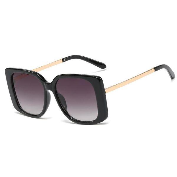 New fashion sunglasses square metal legs sunglasses street shooting wild glasses wholesale NHFY200459