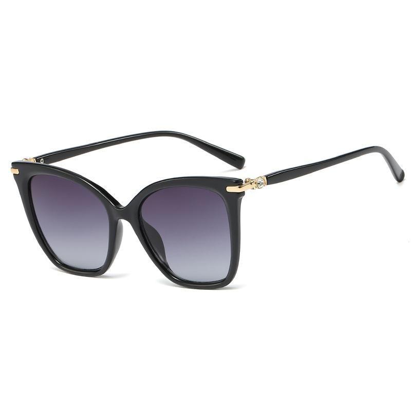 New Fashion Cat Eye Sunglasses Women Trend Wild Big Frame Sunglasses Wholesale NHFY200468