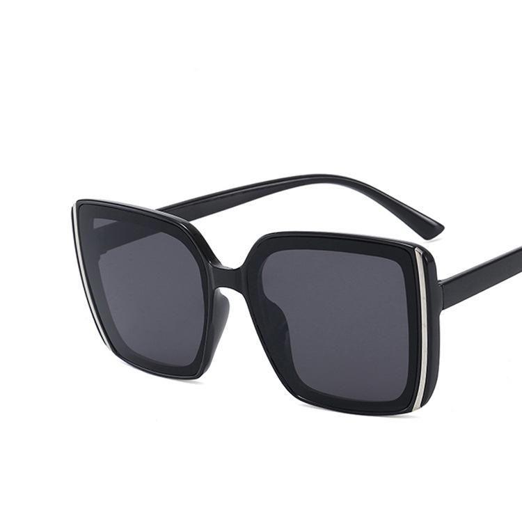 Retro square sunglasses new fashion street shoot sunglasses wholesale NHKD200480
