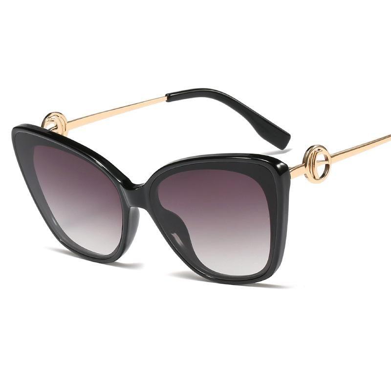 New fashion ladies sunglasses street shoot sunglasses metal leg glasses wholesale NHFY200471