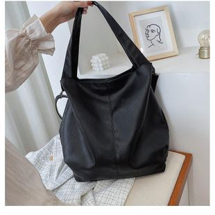 Spring new fashion large-capacity bag female trend Korean version of the wild simple shoulder Messenger bag NHTC200514's discount tags