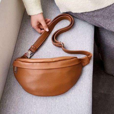 New Korean Fashion Joker Crossbody Bag Fashion Waist Bag Wholesale NHTC200554's discount tags