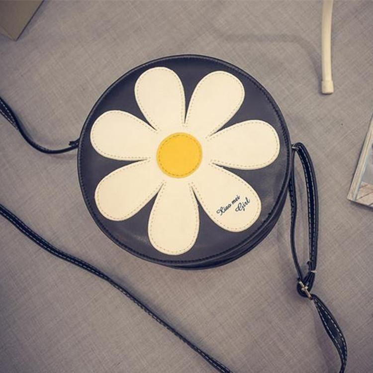 Korean  new small flower women's bag shoulder bag sunflower diagonal bag cosmetic phone bag NHXC200596