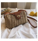Summer woven straw bag women39s new style foreign bag retro shoulder messenger bag NHGA200632