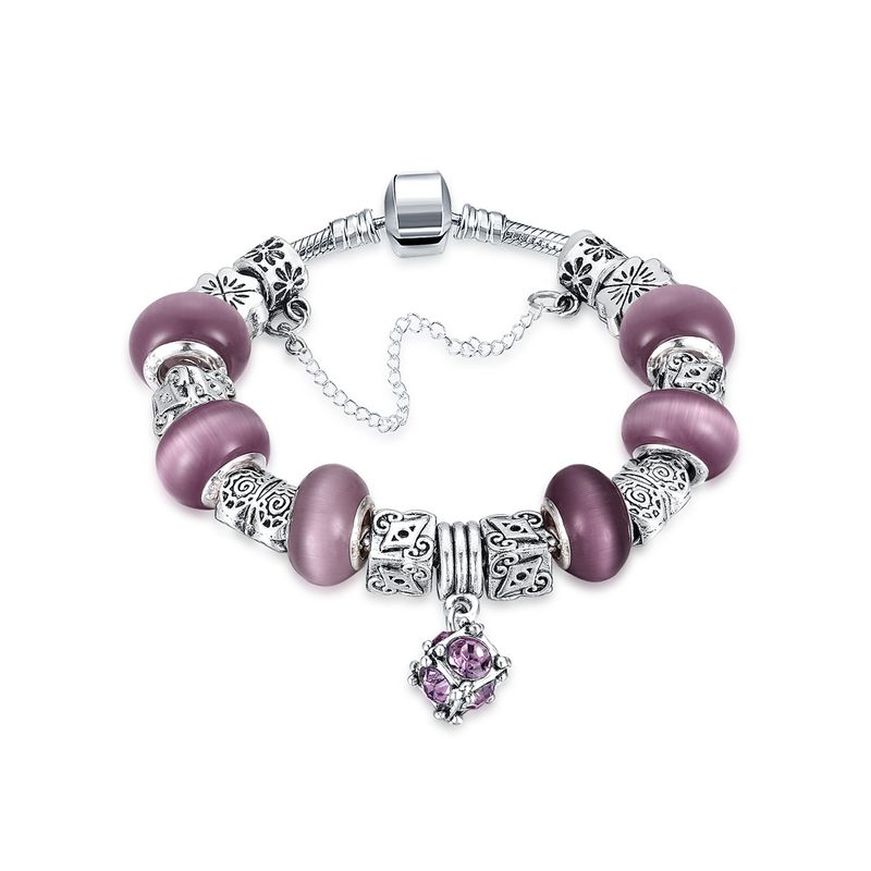 DIY Fashion Bracelet Wholesale Exquisite Fashion Bracelet DIY 7 Color Gray Lady Temperament Bracelet NHKL200751