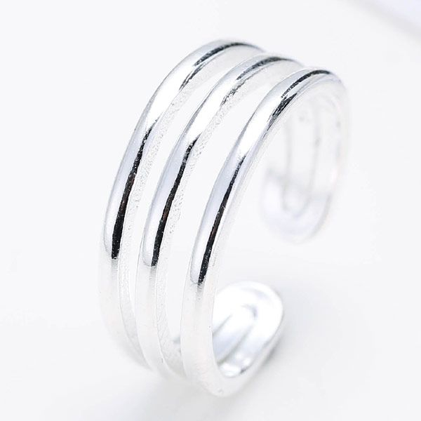 Fashion jewelry wholesale simple metal split ring NHSC201024