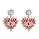 New Angel39s Eye Earrings Women Korean Tide French Devil Stud Earrings NHJJ200929