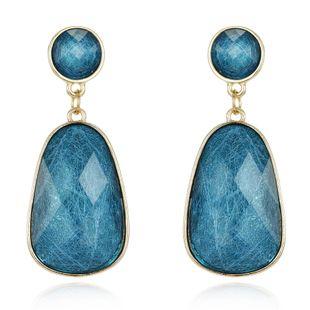 Joyería nueva resina aretes de seda pendientes de cristal pendientes largos  NHGO201036's discount tags