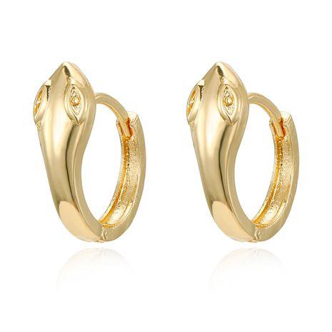 Golden Snake Earrings Korean Earrings Animal Small Ear Studs Alloy Earrings Earrings NHGO201039's discount tags