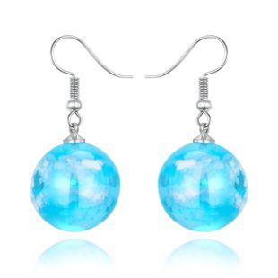 Joyas aretes Cielo azul Nube blanca Pendientes de bolas Corea Nuevo Starry Bird Pendientes Resina NHGO201040's discount tags