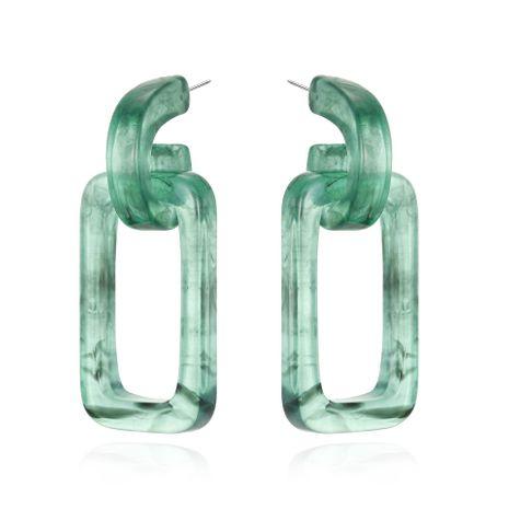 Geometric Acrylic Pierced Earrings Acetate Earrings Vintage Amber Earrings NHGO201043's discount tags
