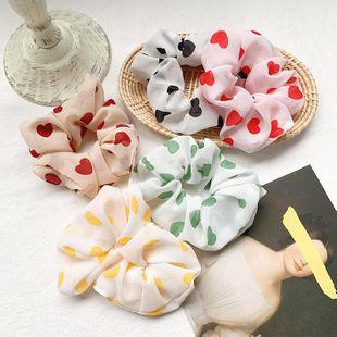 Nueva moda accesorios para el cabello anillo para el cabello chica amor a atar el pelo banda elástica NHOF201061's discount tags