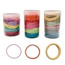 100 hair ropes Korean color macaron rubber band seamless headband NHOF201064